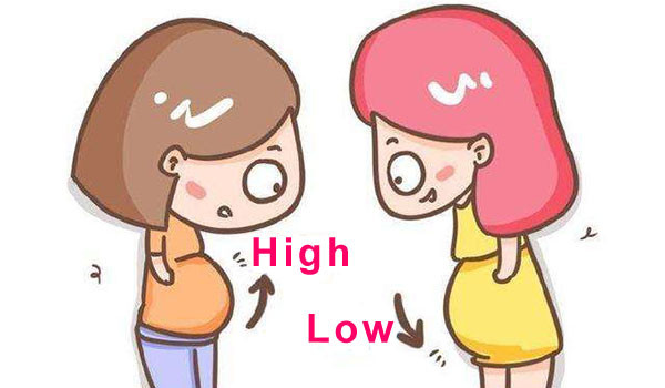 carrying high or low